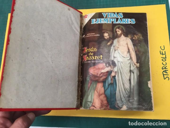 Tebeos: VIDAS EJEMPLARES NOVARO. 1 TOMO DE 20 NUMEROS (VER DESCRIPCION) EDITORIAL NOVARO AÑO 1955-1959 - Foto 3 - 287686243