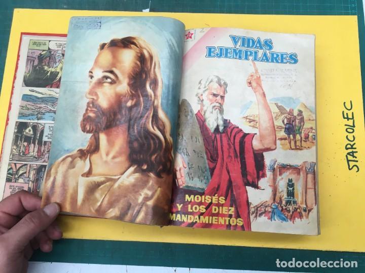 Tebeos: VIDAS EJEMPLARES NOVARO. 1 TOMO DE 20 NUMEROS (VER DESCRIPCION) EDITORIAL NOVARO AÑO 1955-1959 - Foto 4 - 287686243