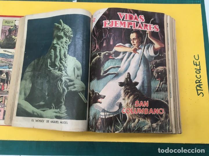 Tebeos: VIDAS EJEMPLARES NOVARO. 1 TOMO DE 20 NUMEROS (VER DESCRIPCION) EDITORIAL NOVARO AÑO 1955-1959 - Foto 5 - 287686243