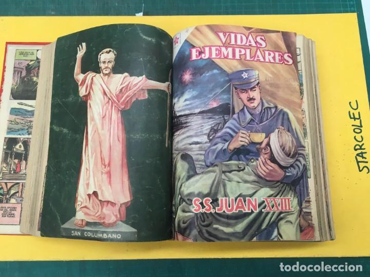 Tebeos: VIDAS EJEMPLARES NOVARO. 1 TOMO DE 20 NUMEROS (VER DESCRIPCION) EDITORIAL NOVARO AÑO 1955-1959 - Foto 6 - 287686243