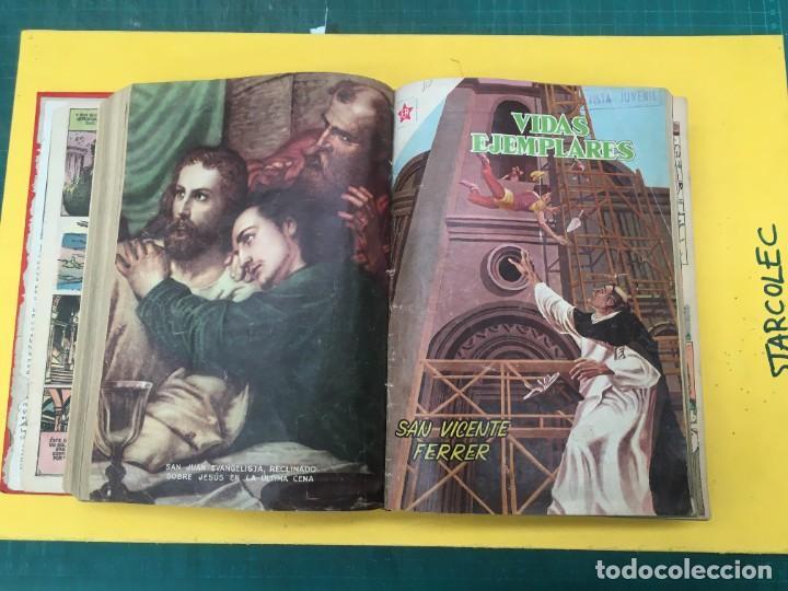 Tebeos: VIDAS EJEMPLARES NOVARO. 1 TOMO DE 20 NUMEROS (VER DESCRIPCION) EDITORIAL NOVARO AÑO 1955-1959 - Foto 10 - 287686243