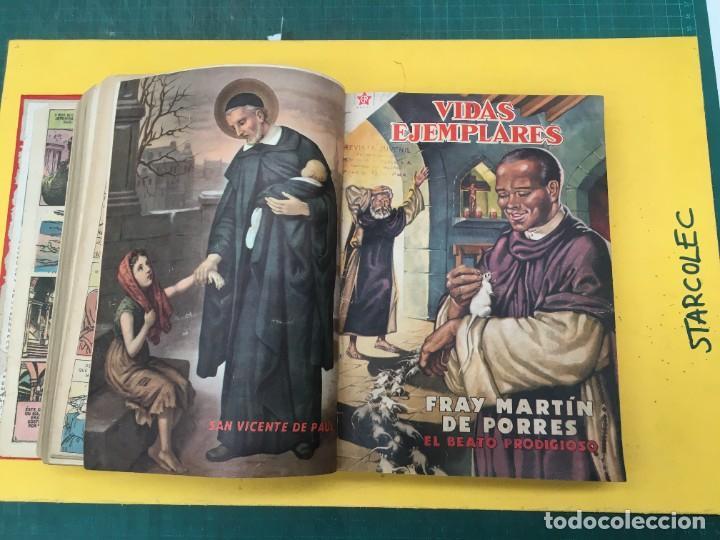 Tebeos: VIDAS EJEMPLARES NOVARO. 1 TOMO DE 20 NUMEROS (VER DESCRIPCION) EDITORIAL NOVARO AÑO 1955-1959 - Foto 12 - 287686243