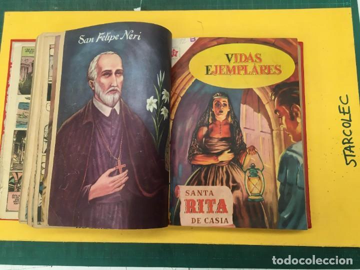 Tebeos: VIDAS EJEMPLARES NOVARO. 1 TOMO DE 20 NUMEROS (VER DESCRIPCION) EDITORIAL NOVARO AÑO 1955-1959 - Foto 14 - 287686243