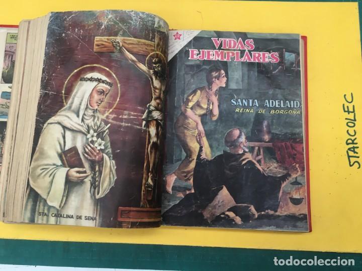 Tebeos: VIDAS EJEMPLARES NOVARO. 1 TOMO DE 20 NUMEROS (VER DESCRIPCION) EDITORIAL NOVARO AÑO 1955-1959 - Foto 18 - 287686243