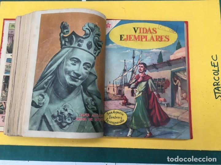Tebeos: VIDAS EJEMPLARES NOVARO. 1 TOMO DE 20 NUMEROS (VER DESCRIPCION) EDITORIAL NOVARO AÑO 1955-1959 - Foto 19 - 287686243