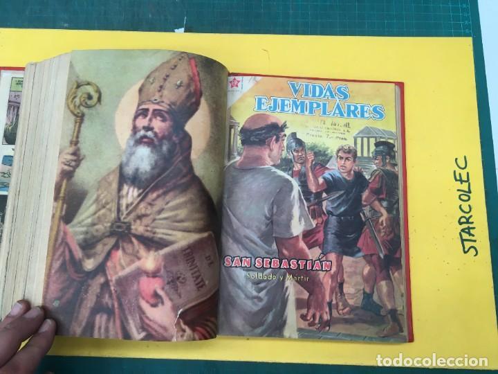 Tebeos: VIDAS EJEMPLARES NOVARO. 1 TOMO DE 20 NUMEROS (VER DESCRIPCION) EDITORIAL NOVARO AÑO 1955-1959 - Foto 20 - 287686243