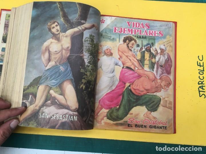 Tebeos: VIDAS EJEMPLARES NOVARO. 1 TOMO DE 20 NUMEROS (VER DESCRIPCION) EDITORIAL NOVARO AÑO 1955-1959 - Foto 21 - 287686243