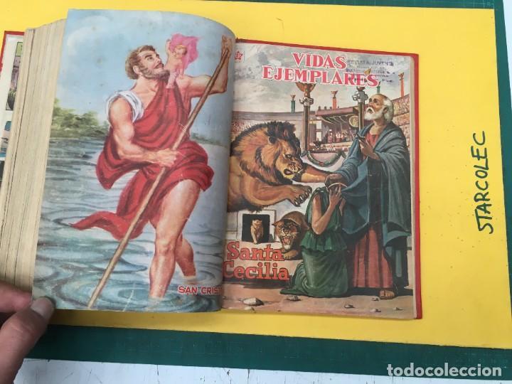 Tebeos: VIDAS EJEMPLARES NOVARO. 1 TOMO DE 20 NUMEROS (VER DESCRIPCION) EDITORIAL NOVARO AÑO 1955-1959 - Foto 22 - 287686243