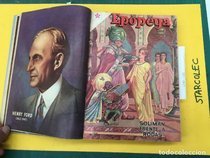 Tebeos: EPOPEYA nº 1/ VARIOS NOVARO. 1 TOMO DE 17 NUMEROS (VER DESCRIPCION) EDI. NOVARO AÑO 1957-1959 - Foto 4 - 287712963