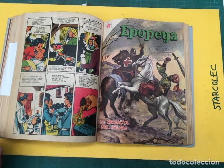 Tebeos: EPOPEYA nº 1/ VARIOS NOVARO. 1 TOMO DE 17 NUMEROS (VER DESCRIPCION) EDI. NOVARO AÑO 1957-1959 - Foto 13 - 287712963