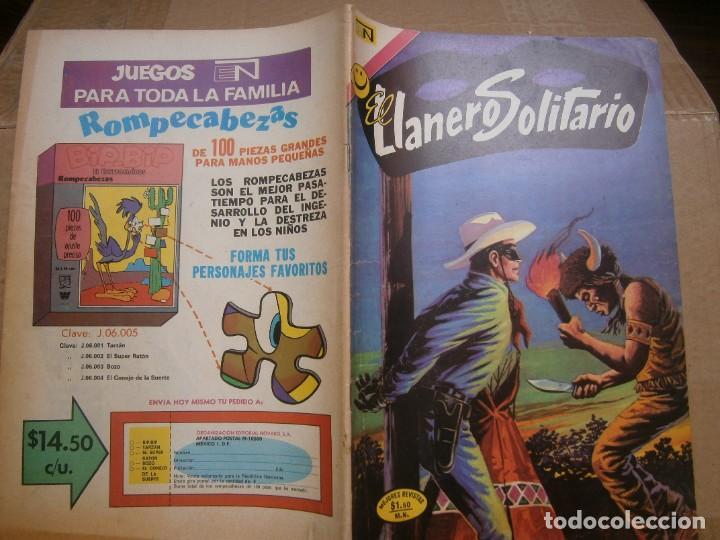 EL LLANERO SOLITARIO # 275 EDITORIAL NOVARO MEXICO 1972 (Tebeos y Comics - Novaro - El Llanero Solitario)