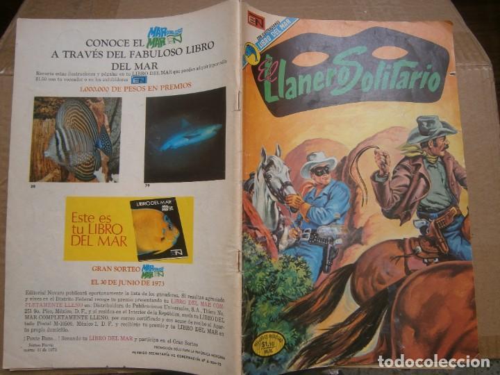 EL LLANERO SOLITARIO # 294 EDITORIAL NOVARO MEXICO 1973 (Tebeos y Comics - Novaro - El Llanero Solitario)