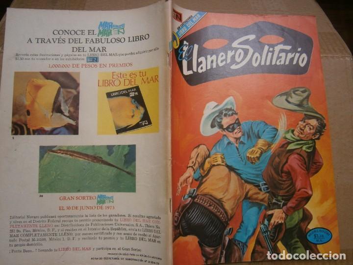 EL LLANERO SOLITARIO # 297 EDITORIAL NOVARO MEXICO 1973 (Tebeos y Comics - Novaro - El Llanero Solitario)