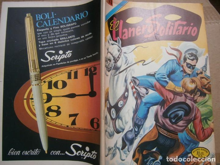 EL LLANERO SOLITARIO # 301 EDITORIAL NOVARO MEXICO 1973 (Tebeos y Comics - Novaro - El Llanero Solitario)