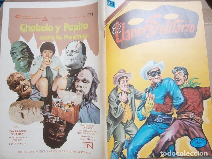 EL LLANERO SOLITARIO # 302 EDITORIAL NOVARO MEXICO 1973 (Tebeos y Comics - Novaro - El Llanero Solitario)