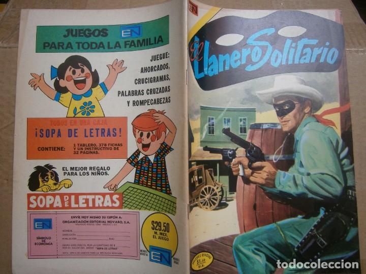 EL LLANERO SOLITARIO # 303 SEA NOVARO MEXICO 1973 (Tebeos y Comics - Novaro - El Llanero Solitario)