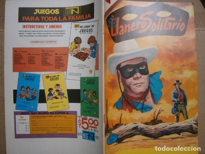 EL LLANERO SOLITARIO # 305 EDITORIAL NOVARO MEXICO 1973 (Tebeos y Comics - Novaro - El Llanero Solitario)