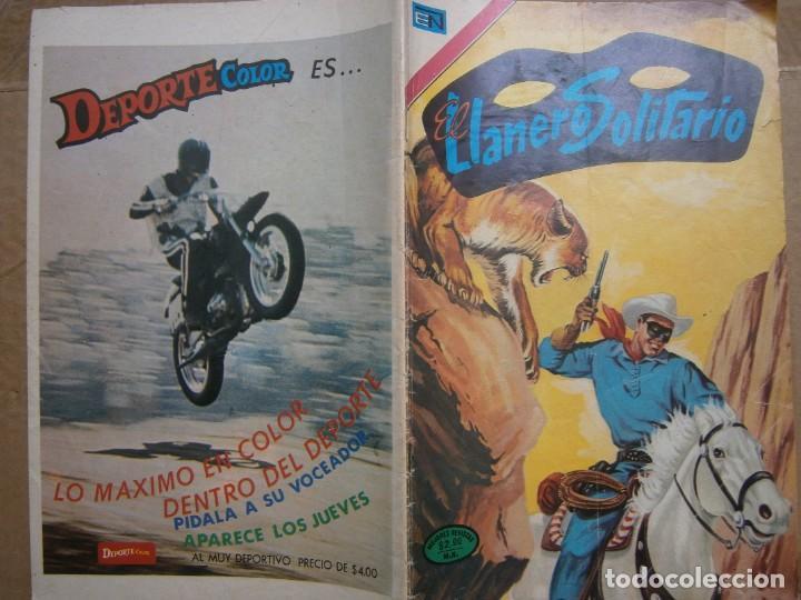 EL LLANERO SOLITARIO # 308 EDITORIAL NOVARO MEXICO 1974 (Tebeos y Comics - Novaro - El Llanero Solitario)