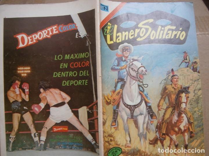 EL LLANERO SOLITARIO # 312 EDITORIAL NOVARO MEXICO 1974 (Tebeos y Comics - Novaro - El Llanero Solitario)