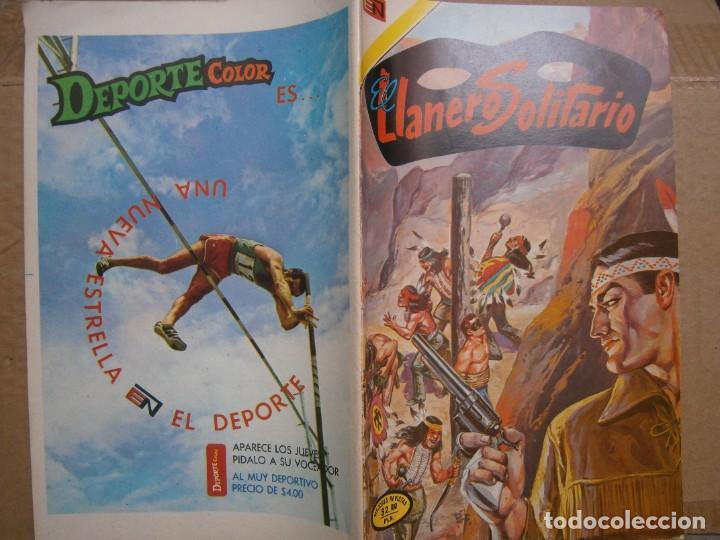 EL LLANERO SOLITARIO # 313 EDITORIAL NOVARO MEXICO 1974 (Tebeos y Comics - Novaro - El Llanero Solitario)