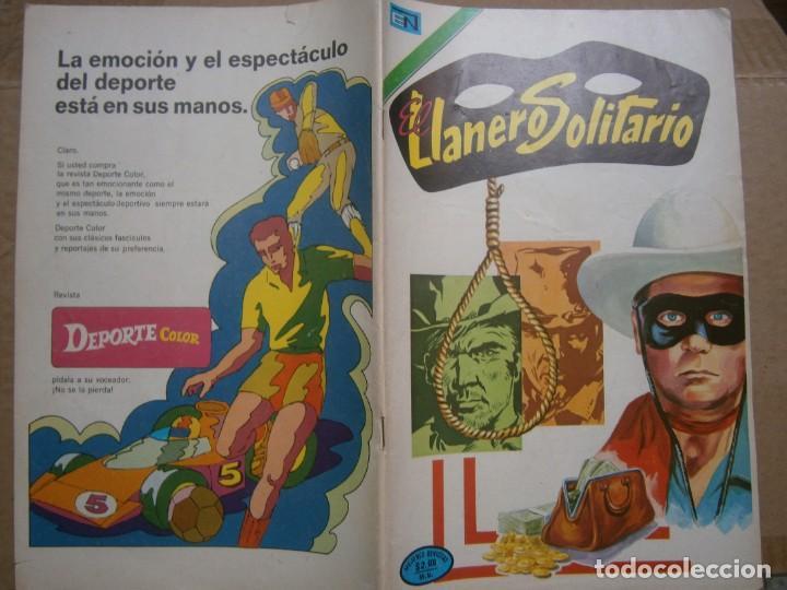 EL LLANERO SOLITARIO # 315 SEA NOVARO MEXICO 1974 (Tebeos y Comics - Novaro - El Llanero Solitario)