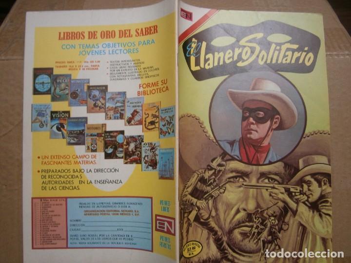 EL LLANERO SOLITARIO # 318 EDITORIAL NOVARO MEXICO 1974 (Tebeos y Comics - Novaro - El Llanero Solitario)