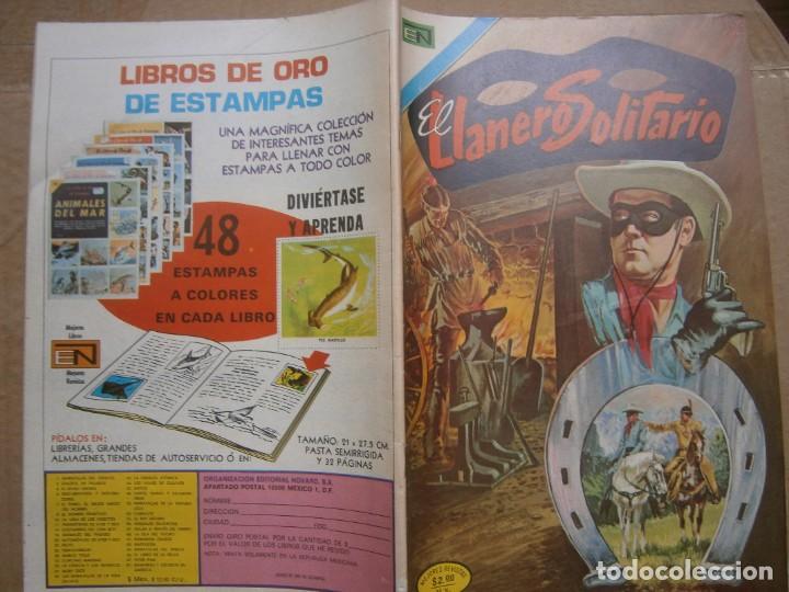 EL LLANERO SOLITARIO # 320 EDITORIAL NOVARO MEXICO 1974 (Tebeos y Comics - Novaro - El Llanero Solitario)