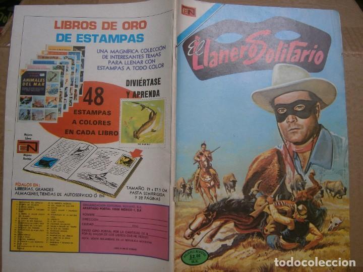 EL LLANERO SOLITARIO # 323 EDITORIAL NOVARO MEXICO 1974 (Tebeos y Comics - Novaro - El Llanero Solitario)