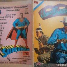 Tebeos: EL LLANERO SOLITARIO # 4 SERIE AVESTRUZ EDITORIAL NOVARO MEXICO 1975. Lote 287793368