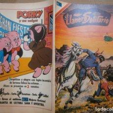 Tebeos: EL LLANERO SOLITARIO # 3-18 SERIE AVESTRUZ EDITORIAL NOVARO MEXICO 1975. Lote 287793868