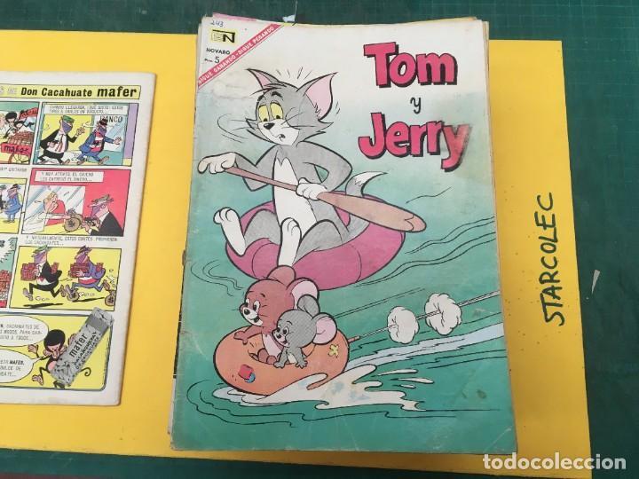 Tebeos: TOM Y JERRY NOVARO, 42 NUMEROS (VER DESCRIPCION) EDITORIAL NOVARO AÑO 1956-1973 - Foto 3 - 287861208