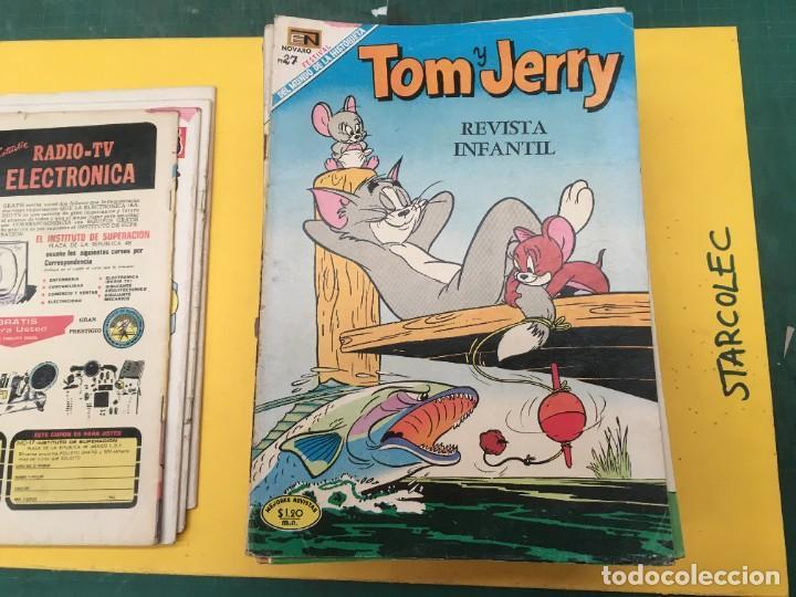 Tebeos: TOM Y JERRY NOVARO, 42 NUMEROS (VER DESCRIPCION) EDITORIAL NOVARO AÑO 1956-1973 - Foto 6 - 287861208