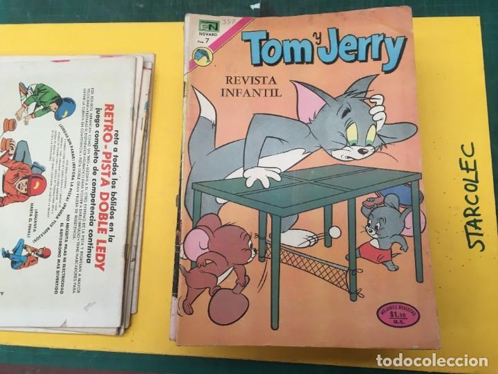 Tebeos: TOM Y JERRY NOVARO, 42 NUMEROS (VER DESCRIPCION) EDITORIAL NOVARO AÑO 1956-1973 - Foto 8 - 287861208