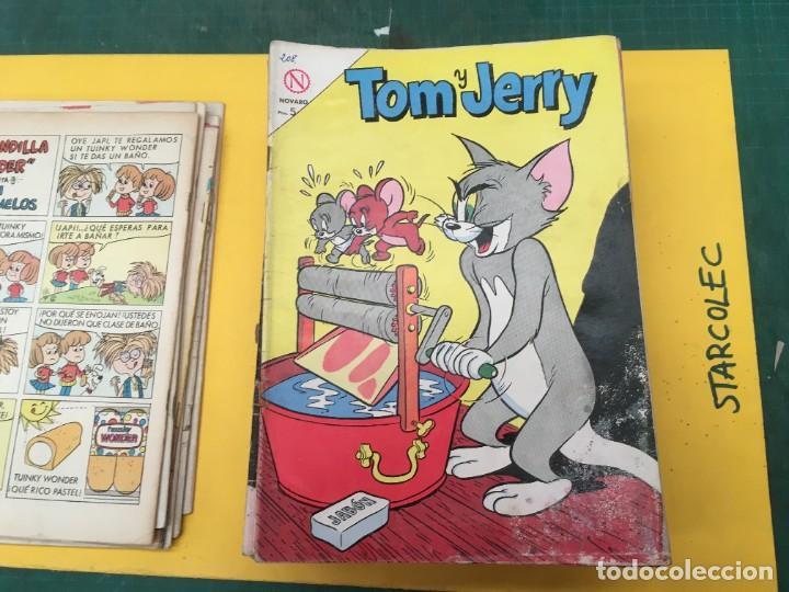 Tebeos: TOM Y JERRY NOVARO, 42 NUMEROS (VER DESCRIPCION) EDITORIAL NOVARO AÑO 1956-1973 - Foto 9 - 287861208
