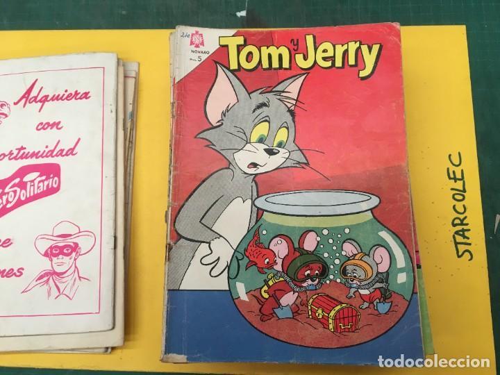 Tebeos: TOM Y JERRY NOVARO, 42 NUMEROS (VER DESCRIPCION) EDITORIAL NOVARO AÑO 1956-1973 - Foto 10 - 287861208