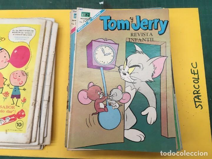 Tebeos: TOM Y JERRY NOVARO, 42 NUMEROS (VER DESCRIPCION) EDITORIAL NOVARO AÑO 1956-1973 - Foto 14 - 287861208