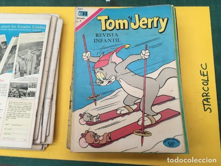 Tebeos: TOM Y JERRY NOVARO, 42 NUMEROS (VER DESCRIPCION) EDITORIAL NOVARO AÑO 1956-1973 - Foto 15 - 287861208