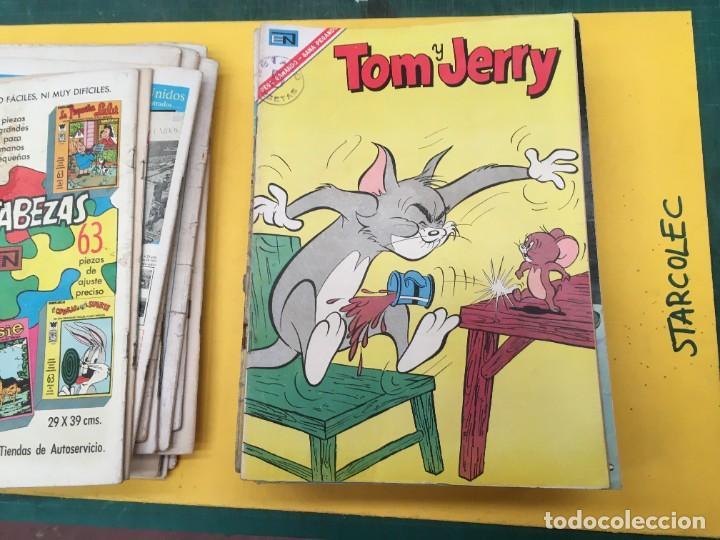 Tebeos: TOM Y JERRY NOVARO, 42 NUMEROS (VER DESCRIPCION) EDITORIAL NOVARO AÑO 1956-1973 - Foto 17 - 287861208