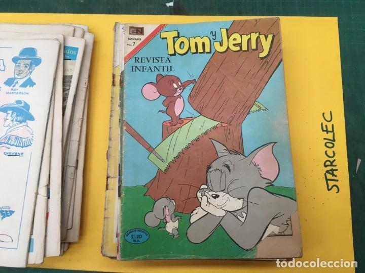 Tebeos: TOM Y JERRY NOVARO, 42 NUMEROS (VER DESCRIPCION) EDITORIAL NOVARO AÑO 1956-1973 - Foto 20 - 287861208