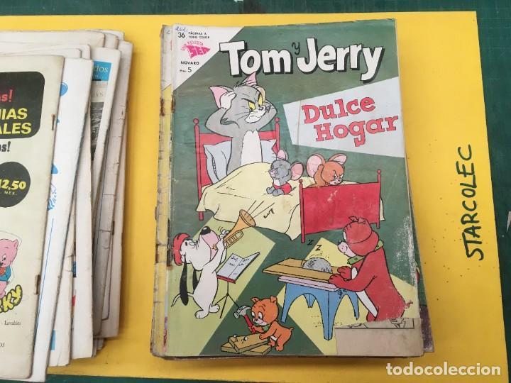Tebeos: TOM Y JERRY NOVARO, 42 NUMEROS (VER DESCRIPCION) EDITORIAL NOVARO AÑO 1956-1973 - Foto 21 - 287861208