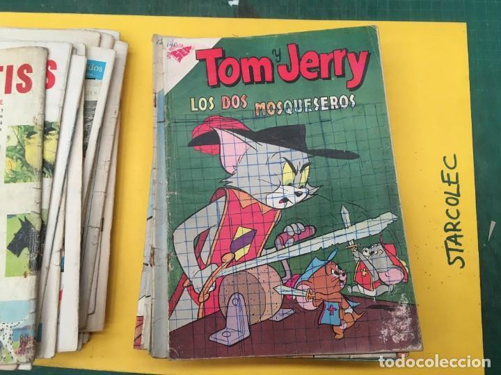 Tebeos: TOM Y JERRY NOVARO, 42 NUMEROS (VER DESCRIPCION) EDITORIAL NOVARO AÑO 1956-1973 - Foto 23 - 287861208
