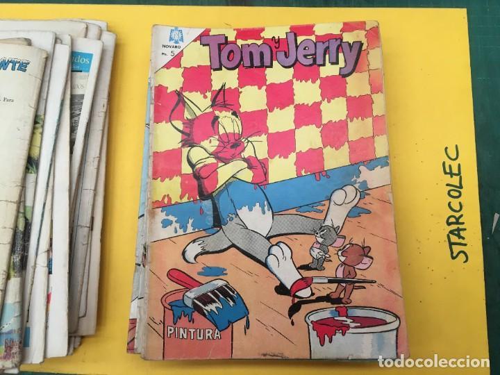Tebeos: TOM Y JERRY NOVARO, 42 NUMEROS (VER DESCRIPCION) EDITORIAL NOVARO AÑO 1956-1973 - Foto 25 - 287861208
