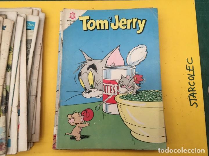 Tebeos: TOM Y JERRY NOVARO, 42 NUMEROS (VER DESCRIPCION) EDITORIAL NOVARO AÑO 1956-1973 - Foto 29 - 287861208