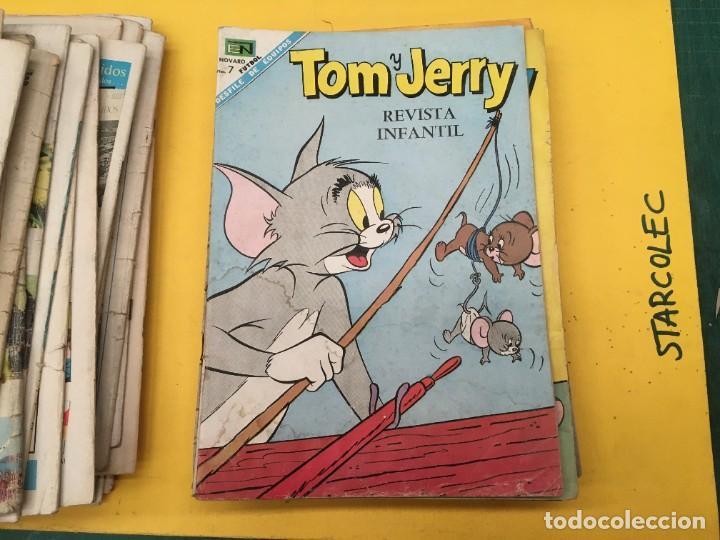 Tebeos: TOM Y JERRY NOVARO, 42 NUMEROS (VER DESCRIPCION) EDITORIAL NOVARO AÑO 1956-1973 - Foto 31 - 287861208