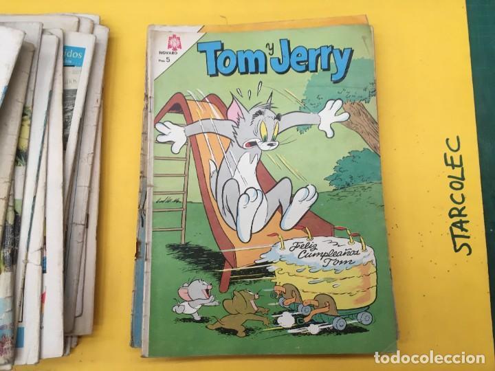 Tebeos: TOM Y JERRY NOVARO, 42 NUMEROS (VER DESCRIPCION) EDITORIAL NOVARO AÑO 1956-1973 - Foto 33 - 287861208