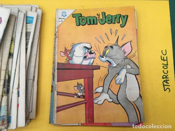 Tebeos: TOM Y JERRY NOVARO, 42 NUMEROS (VER DESCRIPCION) EDITORIAL NOVARO AÑO 1956-1973 - Foto 34 - 287861208