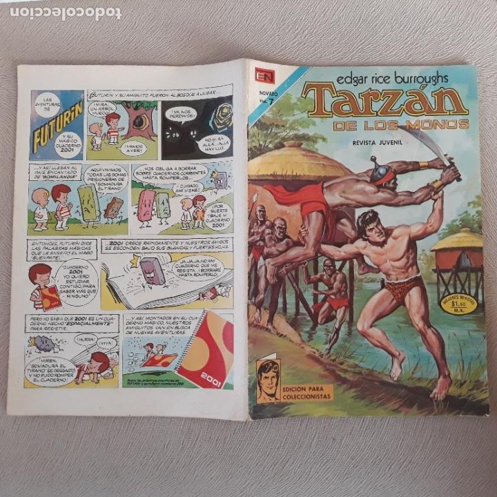 TARZAN NOVARO Nº 366 (Tebeos y Comics - Novaro - Tarzán)