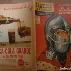 Tebeos: CLASICOS ILUSTRADOS # 103 EL HOMBRE DE LA MASCARA DE HIERRO ALEJANDRO DUMASED. LA PRENSA MEXICO 60. Lote 287955163