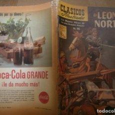 Tebeos: CLASICOS ILUSTRADOS # 106 EL LEON DEL NORTE ED. LA PRENSA MEXICO 1961. Lote 287955918
