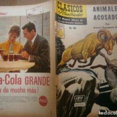 Tebeos: CLASICOS ILUSTRADOS # 109 ANIMALES ACOSADOS E. THOMPSON SETON ED. LA PRENSA MEXICO 1961. Lote 287956678